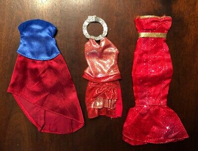 Barbie Doll Dress Clothes Lot