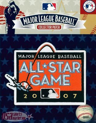 2007 All Star Game Official San Francisco Giants MLB Sleeve Jersey Logo Patch