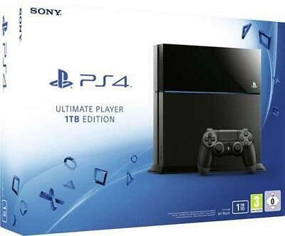 Sony - Playstation 4 Konsole 1 TB Inklusive DualShock 4-Controller GEBRAUCHT