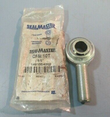 """Sealmaster CFF-10 WW0604 Two-Piece Rod End Spherical Bearing 5//8/"""" USA 4 LOT Of"""