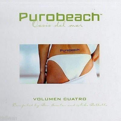 Purobeach - Oasis Del Mar - Vol. 4 - CUATRO - 2CD - CHILL OUT LOUNGE DOWNTEMPO