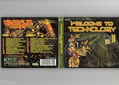 Welcome To Technology Vol. 10 - 2CD - TECHNO ACID TRANCE HARDCORE BOY RECORDS