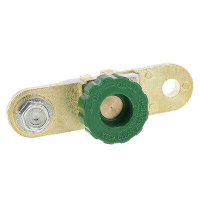 (Green) Battery Link Terminal Quick Cut-off Disconnect Master Shut Switch