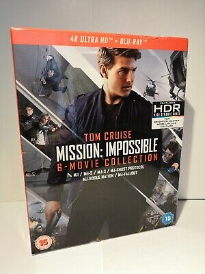 Mission Impossible 6 Movie Set 4K UHD & Blu Ray Inc Fallout *Free UK Postage*