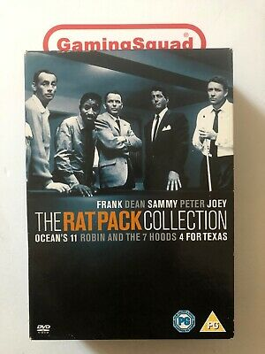 The Rat Pack Collection DVD, Supplied by Gaming Squad