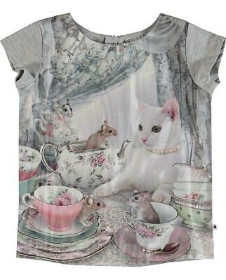 Molo Rubertha T-Shirts Ss Cat's Teaparty