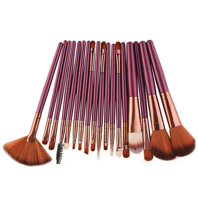 Pro 18Pcs Kaibuki Makeup Brushes Set Foundation Powder Eye Shadow Blush Brush