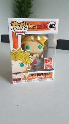 FUNKO POP DRAGON BALL Z SUPER SAIYAN BROLY SDCC 2018 EXCLUSIVE rare