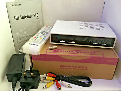 Zgemma Star H1 Combo Sat & Cable Hd Receiver (Boxed & Complete) Linux Smart Box