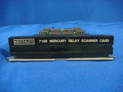 Keithley 7166 Mercury Wetted Relay Scanner Card, 10 Channel, for  705,706