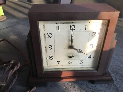 Smiths electric Bakelite Art Deco clock
