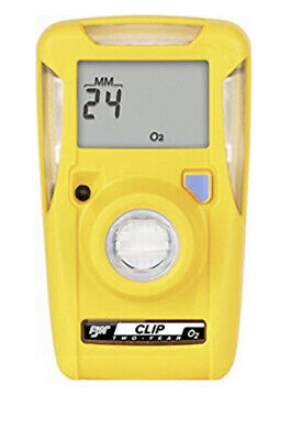 Bw Gas Alert Clip Extreme Gas Monitor O2 Oxygen Bwc2R-X 24 Month (New)