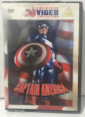 Captain America 1990 UK Region 2 DVD New Sealed - Free Postage
