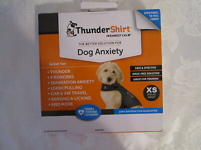 ThunderShirt Insanely Calm Dog Anxiety Relief  Size XS 8-14 lbs