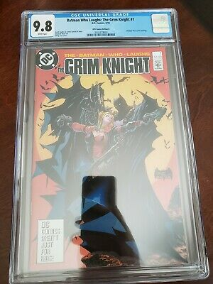 Batman Who Laughs Grim Knight #1. Tan B Variant. Batman #423 Homage. CGC 9.8.