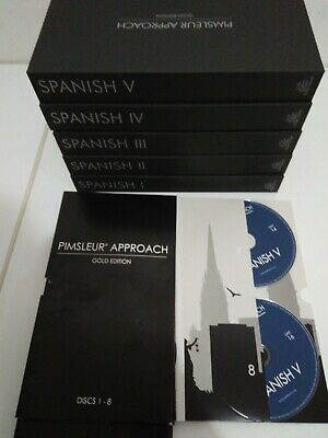 Spanish Pimsleur Level 1-5 Gold 80 CD I II III IV V One Two Three Four Five