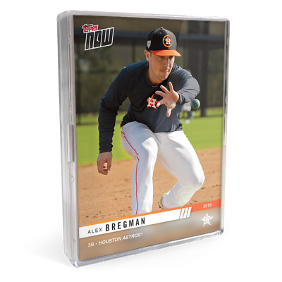 2019 Houston Astros TOPPS NOW Road To Opening Day 15 Card Team Set In Hand