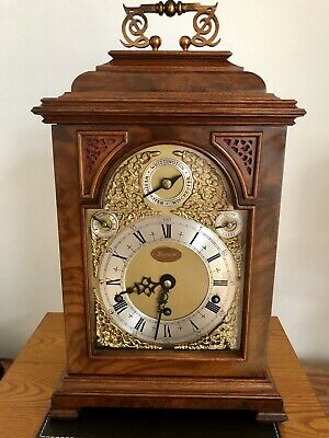 9 Bells Triple Fusee Gerrard Bracket Clock