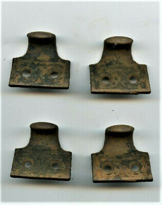 LOT of 4 ANTIQUE ORIGINAL WINDOW SASH LIFTS...PULLS...VICTORIAN, 1880's