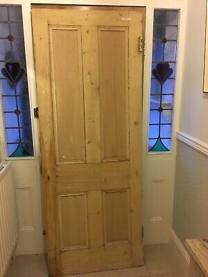 "Edwardian Pine Door Internal 31""x79""x31/2"""