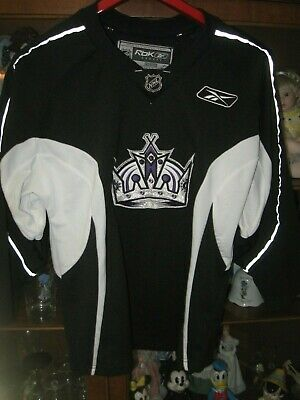super popular a8502 ccc47 REEBOK LA KINGS Jersey Mens Size 50 Sewn NHL Hockey #32 ...