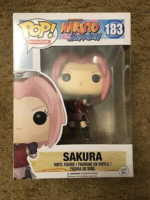 Funko Pop! Animation Naruto Shippuden Sakura #183 vaulted