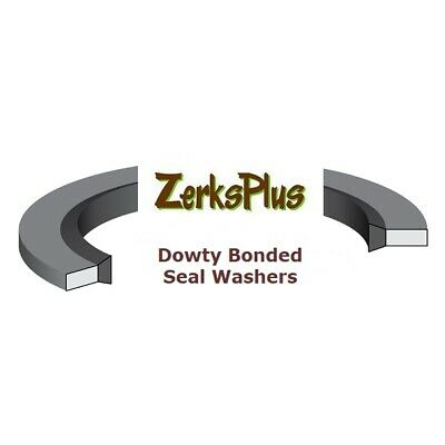 8mm Metric Dowty washer bonded gasket seal M8  8.7x14x1mm   Price for 5 pcs