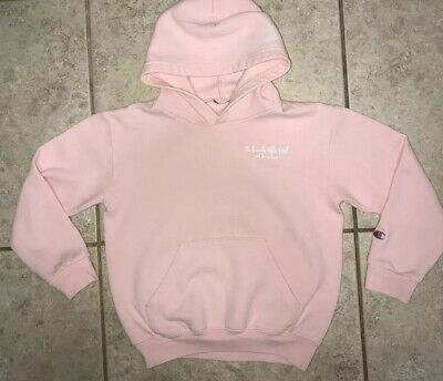 The Beverly Hills Hotel and Bungalows Kids Pink Sweatshirt Size Small