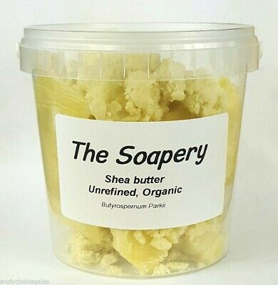 Shea Butter - 1kg - Certified Organic Unrefined Pure Natural Raw