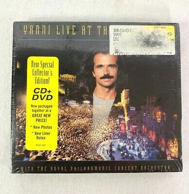 YANNI ON LIVE at THE ACROPOLIS a CD of Greece GREEK Concert KEYBOARD