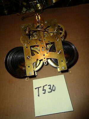 Antique-New Haven-Cast Iron Mantle Clock Movement-Ca.1900-To Restore-#T530