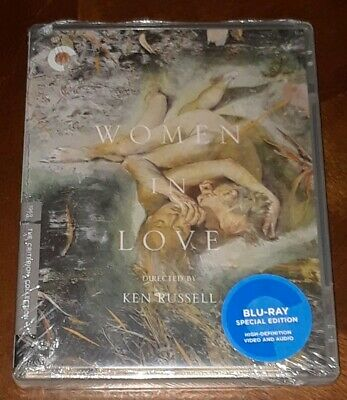 Women in Love 1969 (Blu-ray 2018,4K Criterion Collection) Oliver Reed NEW/SEALED