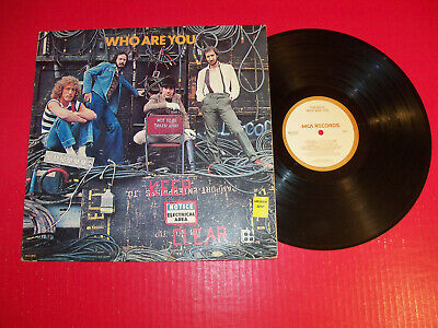 The Who 1978 Lp Who Are You On Classic Rock Vintage Vinyl! Sister Disco!