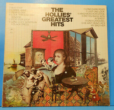 The Hollies Greatest Hits Lp 1973 Re '78 Psych Pop Great Condition! Vg++/Vg++!!A