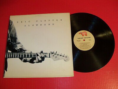 Eric Clapton 1978 Lp Slowhand On Classic Rock Rock Vintage Vinyl! Lay Down Sally