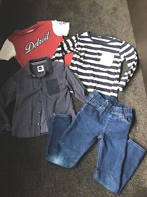 Boys Mixed Lot Jeans Top Bardot Junior Industrie Country Road Sudo Size 4 5 New