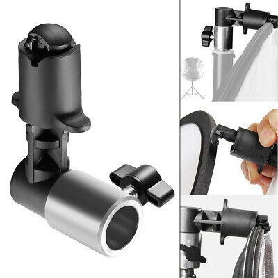 Photography Reflector Holder Clip Clamp to fit Backdrop Background Light Stand