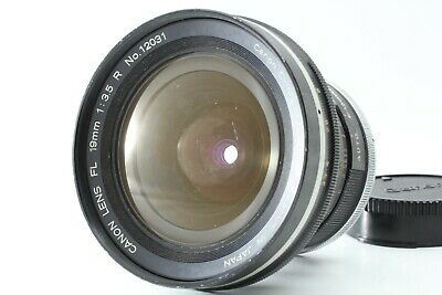 CANON FL 19MM f/3 5 Lens - CLASSIC EARLY SLR ULTRA-WIDE ANGLE LENS