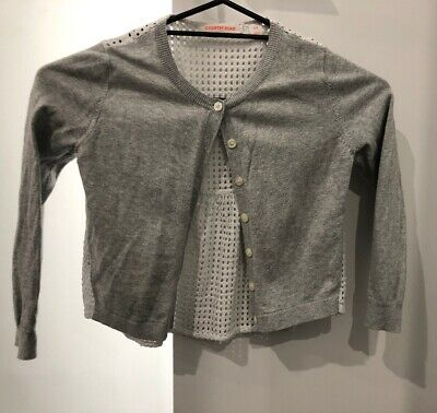 Country Road Grey Cardigan Worn Once Girls Size 8