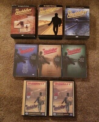 The Hitchhiker-Complete First, Third and Fourth Season DVD+HBO Vols. 1-3 + Bonus