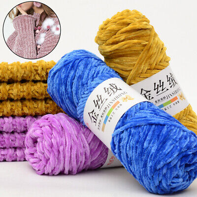 Chenille Wool Thread Crochet Cashmere Yarn knitting Yarn Soft Scarf Woven Wool