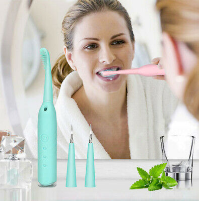 NEW Portable Electric Sonic Dental Scaler Tooth Calculus Remover Tooth Stains KY