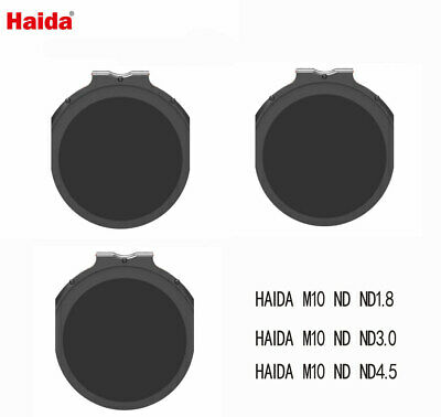 Haida M10 plug-in round ND kit ND1.8+ND3.0+ND4.5 filter for M10 holder