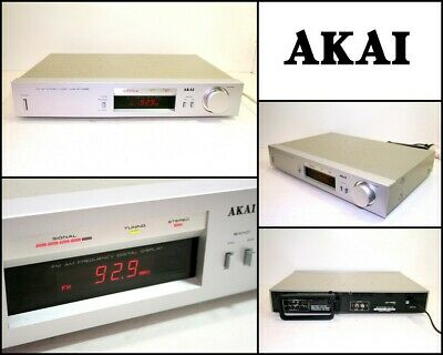 Vintage AKAI AT-K22 Stereo FM AM Tuner with Mono Switch (Made in Japan)