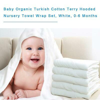 Organic Cotton Hooded Baby Towel With Laundry Bag Children's Bath Towel