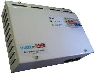 Matte Accendo B60 Voltage Optimiser brand new in box sealed never fitted