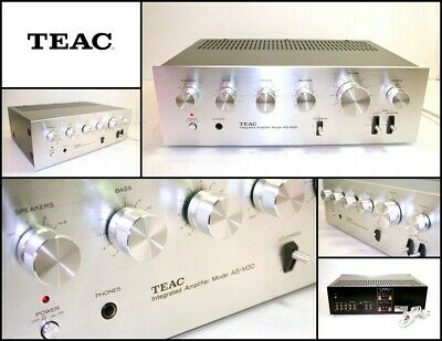 Vintage TEAC AS-M30 Stereo High End Integrated Amplifier (Made in Japan)