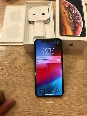 Iphone X 64gb nuovo Sostituito Apple Scatola E Accessori Originali