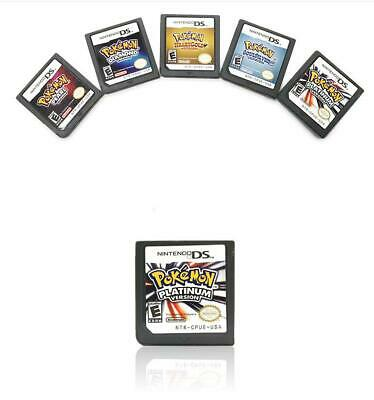 3DS NDS DSI Pokemon Platinum Pearl Diamond Version Game Card For Nintendo US