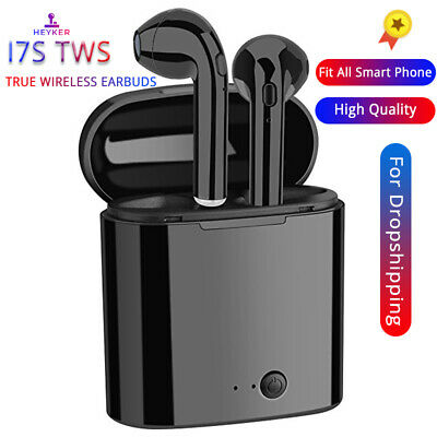 i7s TWS Mini Bluetooth Wireless Earphones Earbuds With Charging Box Sports Heads
